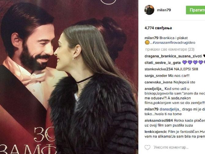 Sutra je beogradska premijera filma: A OVAKO je večeras u Novom Pazaru publika dočekala Zonu i Maneta!