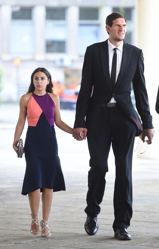 Bobi Marjanović sa suprugom Milicom Krstić