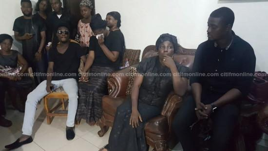 Opare Hammond's death: Akufo-Addo visits late MP's family