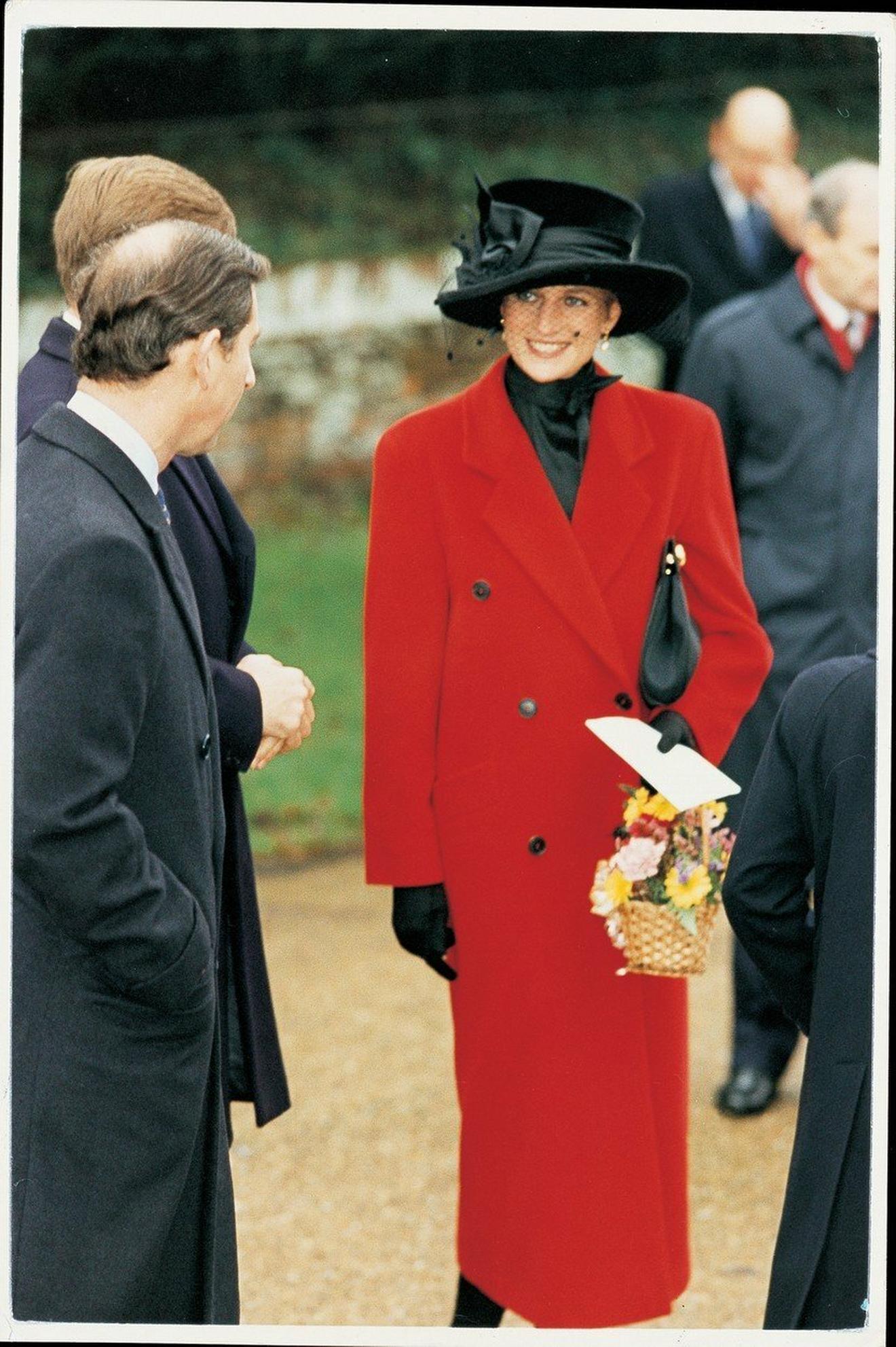 Princeza Dajana na proslavi Božića 1993. u Londonu