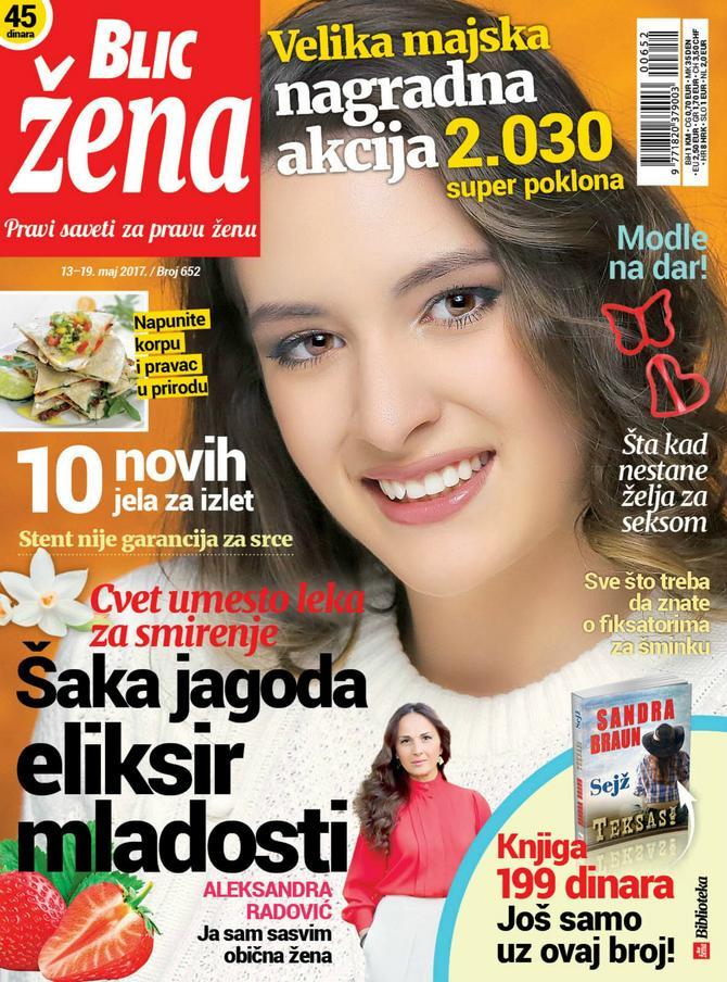 """Poklon-modle čekaju vas još samo danas  u """"Blic ženi"""" koja se prodaje na teritoriji Srbije u tiražu bez knjiga"""