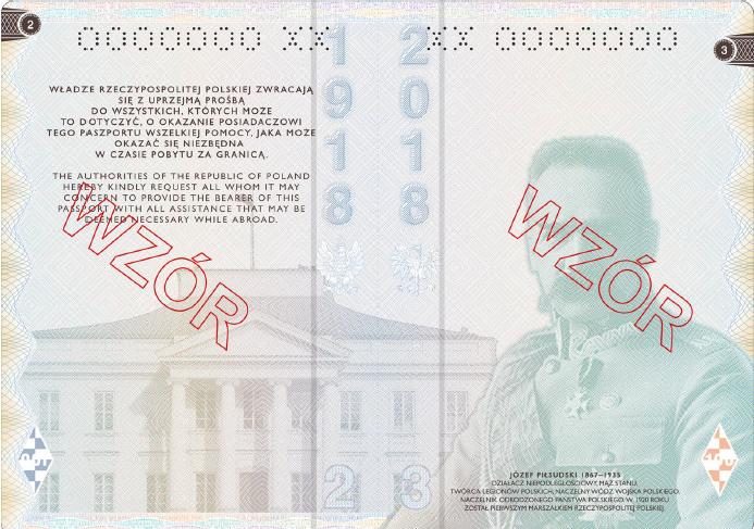 A new passport design