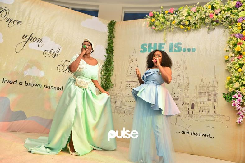 Omawumi and Waje thrilled guest at the premiere of their movie 'She Is' with an amazing performance [PULSE]