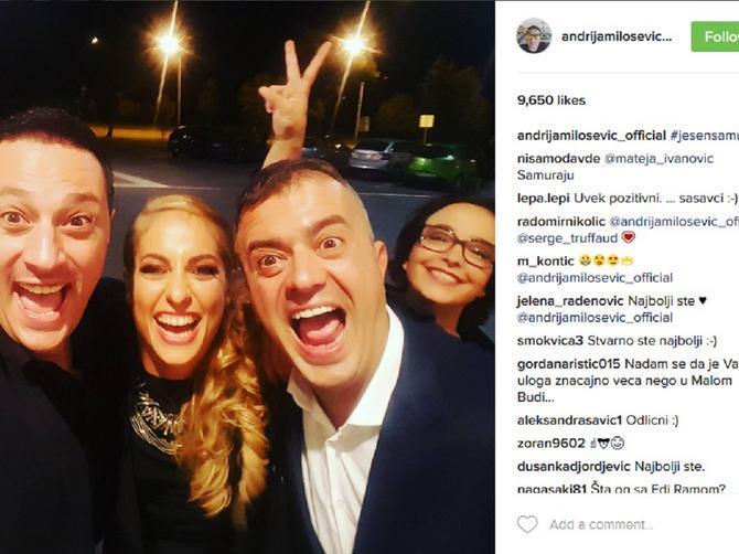 KAKVA ČETVORKA Ovako naši glumci proslavljaju premijeru!
