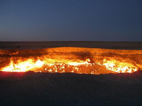 """""""Kapija Pakla"""" nastala je prilikom bušenja gasa u Turkmenistanu"""