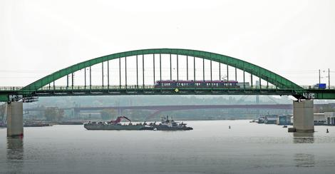 Stari železnički most Nemci su napravili kako bi sebi olakšali transport