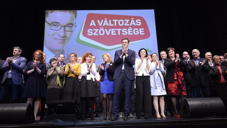 Az MSZP-Párbeszéd már nem aggódik, megvan a lista / Fotó: MTI Soós Lajos