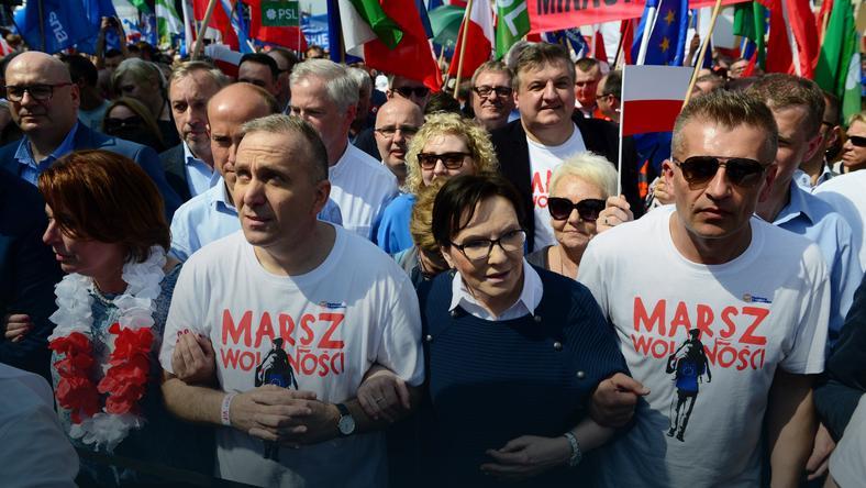 """Opozycja na """"Marszu Wolności"""""""
