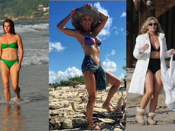 Prešle su pedesetu i ponosno pokazuju telo u bikiniju