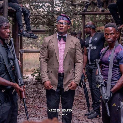 Blossom Chukwujekwu on the set of the movie, 'Made in Heaven'. [peekaboo consult]
