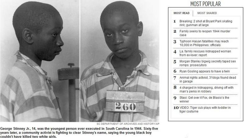 George Stinney Junior