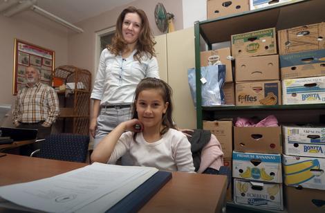 Bojana Zorić sa ćerkom