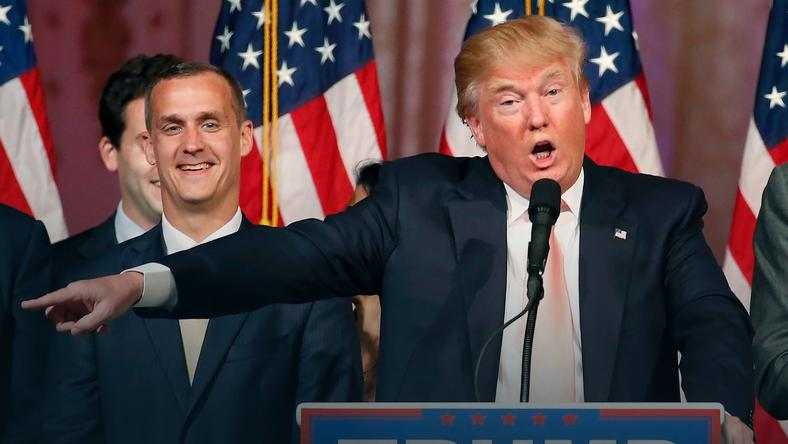 Corey Lewandowski i Donald Trump