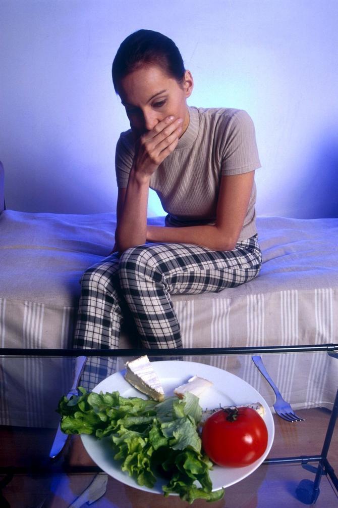 Kod anorektičara je prisutan intenzivan strah od debljanja
