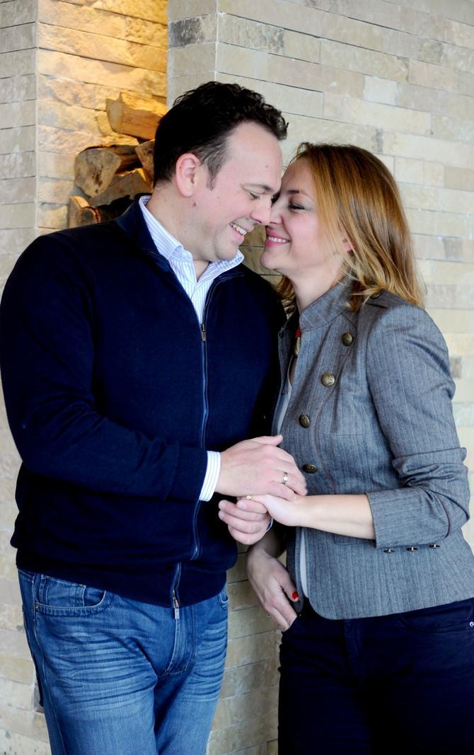 Nedeljko Bajić sa suprugom