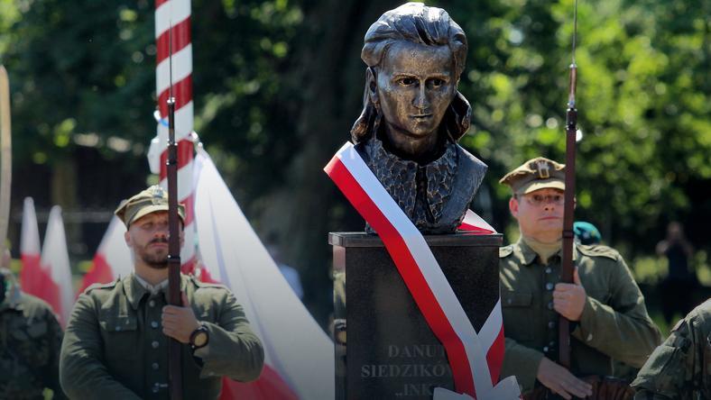 Monument Danuta Siedzik & # XF3; wny &  quot; Inka & quot;