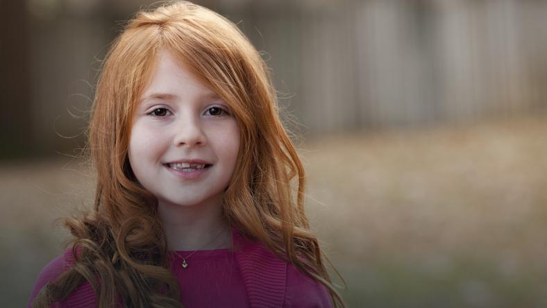 Skąd się biorą rude włosy? - Dziecko