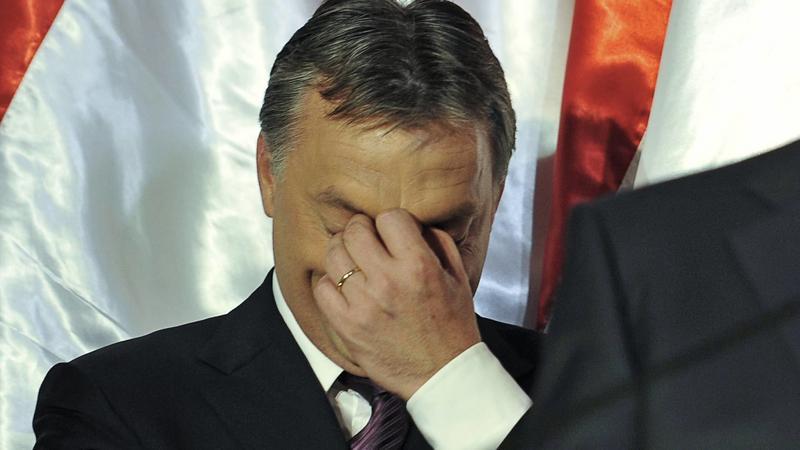 És mit szól ehhez Orbán Viktor? / Fotó: AFP