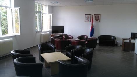 """Prostorija za dnevni boravak kasarne """"Mija Stanimirović"""""""