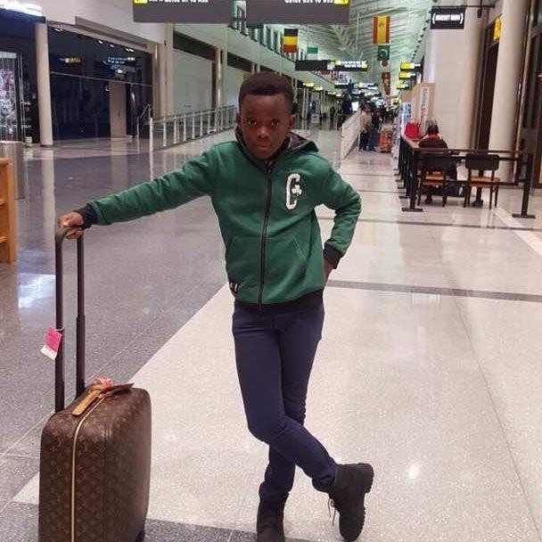 Jackie Appiah's son, Damien Agyemang