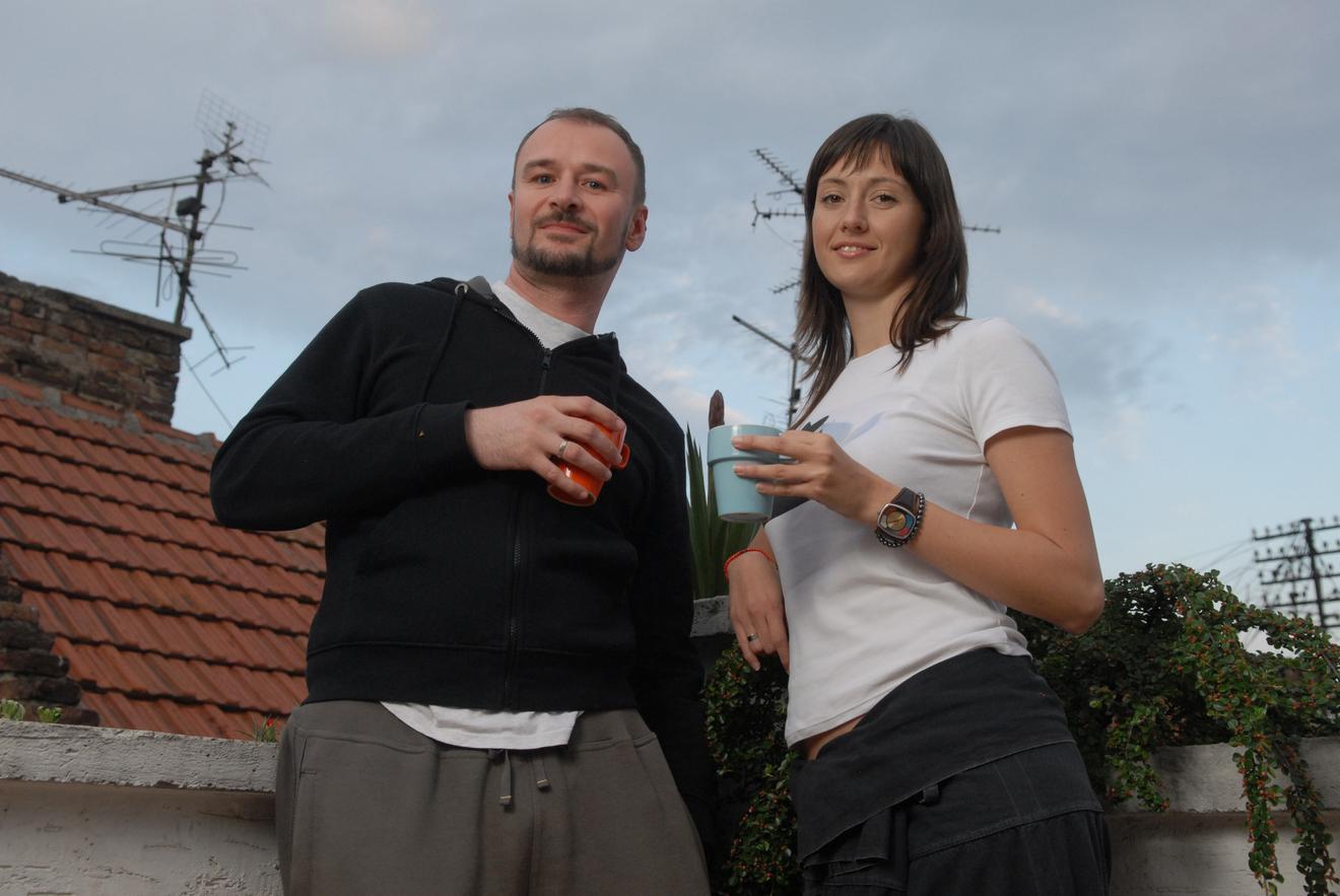 Jelena Ćuruvija i Aleksandar Đurica