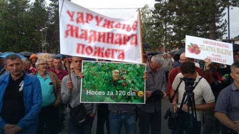 Protest malinara