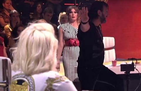 Skandal u ZG: Karleuša je poludela kada je čula šta je Lukas rekao za njene pesme, pa je uradila OVO!