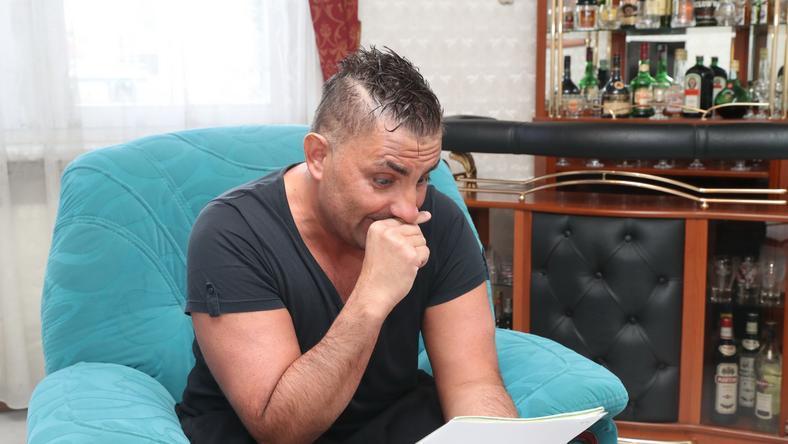 Gáspár Győző elkeseredett, úgy érzi, megalázza családját az adóhatóság /Fotó: Pozsonyi Zita