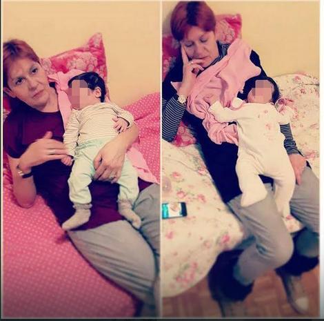 Ljiljana danas sa unukom Ines