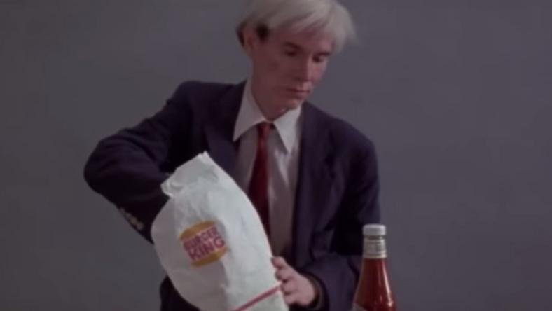 Burger King's Super Bowl Ad Featuring Andy Warhol Leaves Viewers Confused