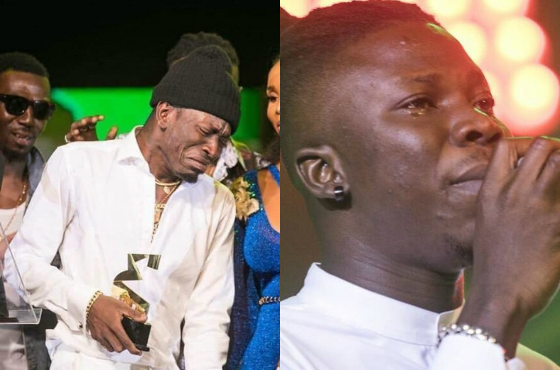 Shatta Wale and Stonebwoy cry