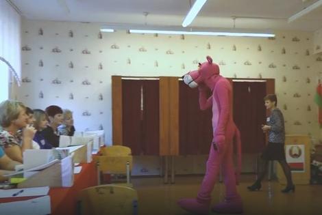 I Pink Panter je došao da glasa