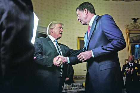 Donald Tramp i Džejms Komi