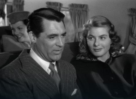 Ingrid Bergman i Keri Grant u filmu