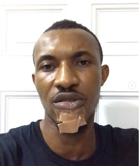 Gideon Okeke Confirms an assault on him by the four policemen who went on to manhandle two other people.