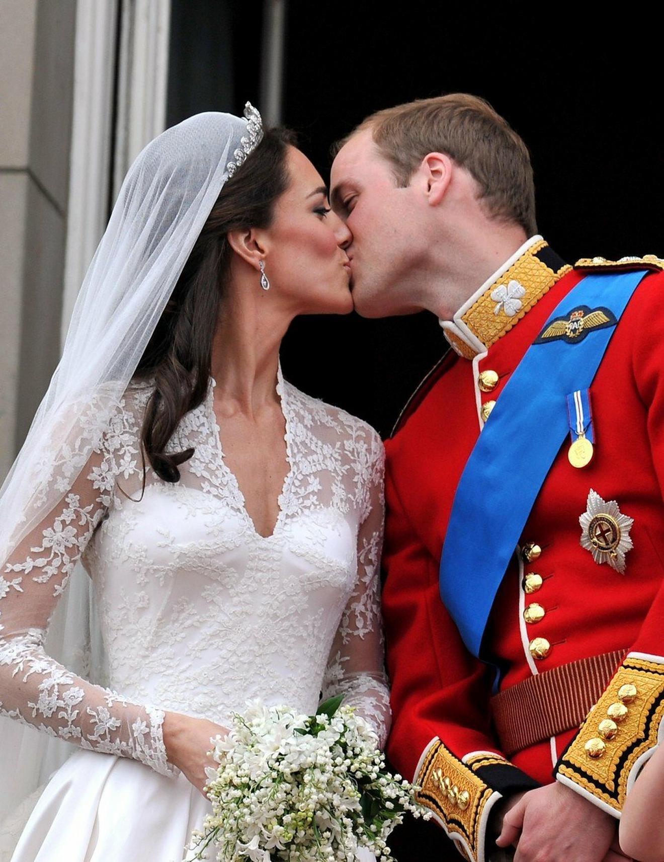 Kejt i Vilijam na venčanju 2011. u Londonu