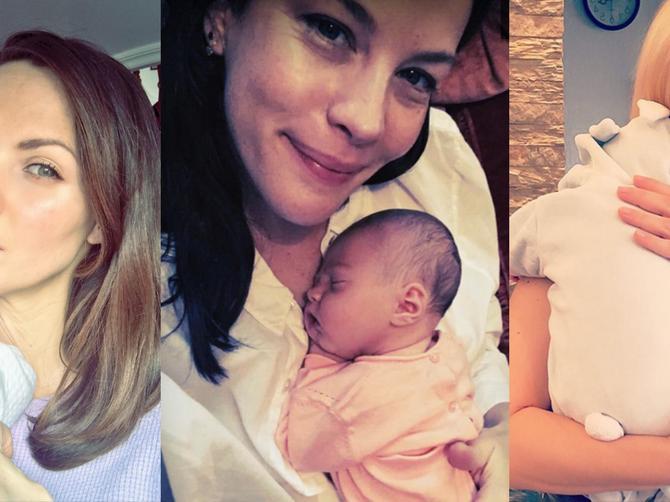 GODINA BEBA: Mnoge poznate dame postale su mame u 2016. Prednjače ćerke!