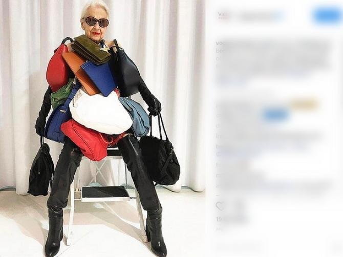 U 95. godini je postala ZVEZDA: Instagram je POLUDEO za BAKOM SA STILOM