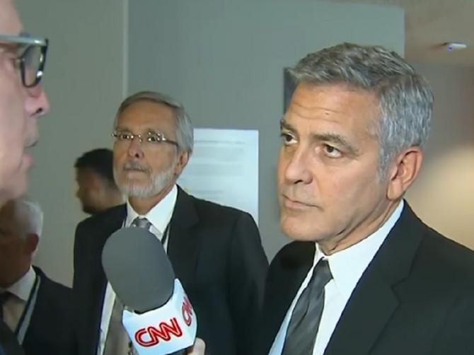 Oglasio se i Kluni povodom razvoda Anđe i Pita: Evo šta je rekao!
