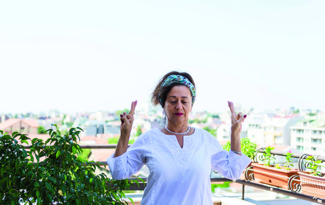 Danica Cvetković, instruktorka kundalini joge