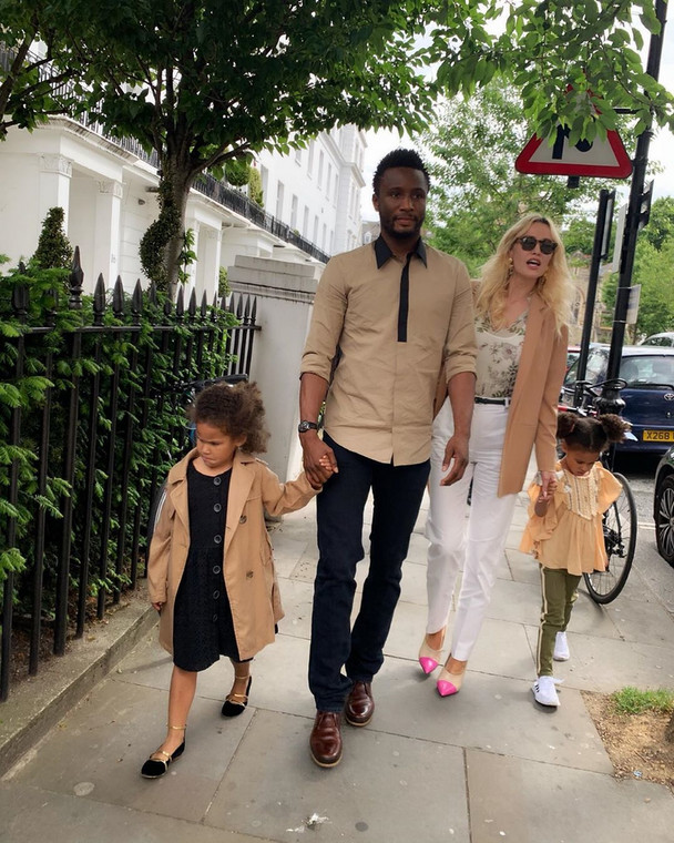 Mikel Obi says he wants to spend more time with his family. (Instagram/Mikel Obi)