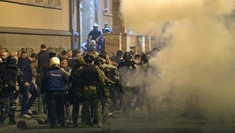 U Skoplju bilo napeto prethodne sedmice