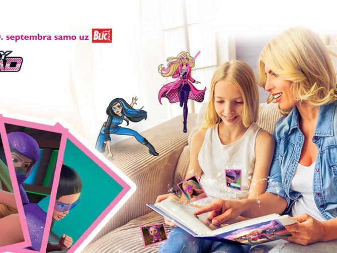 DANAS, samo uz BLIC - Poklon sličice Barbie Spy