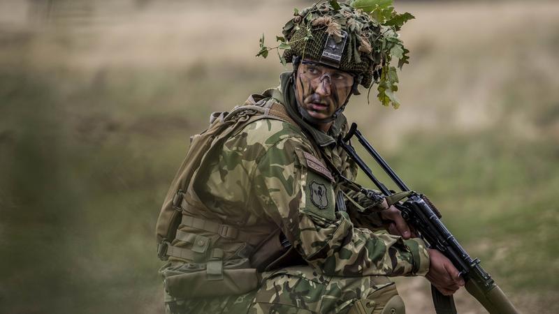 Brave Warrior harcászati gyakorlat / Fotó: MTI Bodnár Boglárka