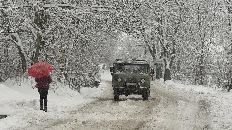 Csütörtökön kemény havazás kezdődött / Fotó: MTI