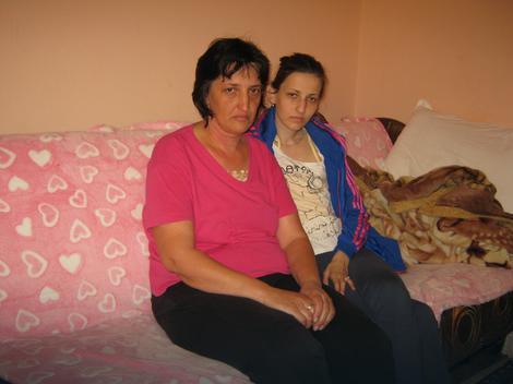 Katarina  sa majkom Sanjom