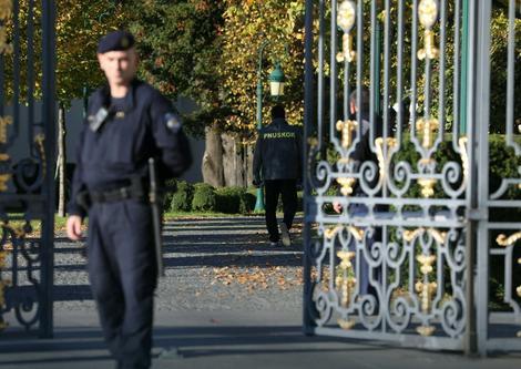 Policija tokom racije u Todorićevoj kući u Zagrebu