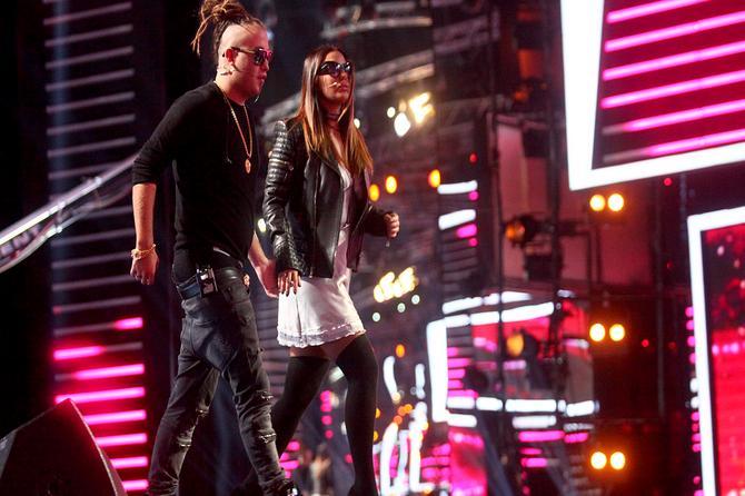 Ovako su Ana i Rasta izgledali juče na snimanju: A šta kažete na ovaj stajling?