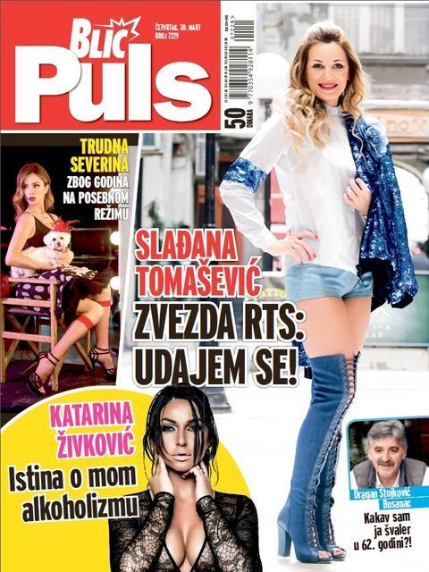 NOVI BLIC PULS OTKRIVA: Udaje se zvezda RTS-a SLAĐANA TOMAŠEVIĆ!
