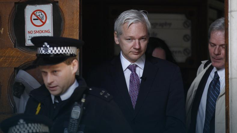 Julian Assange, fot. Reuters